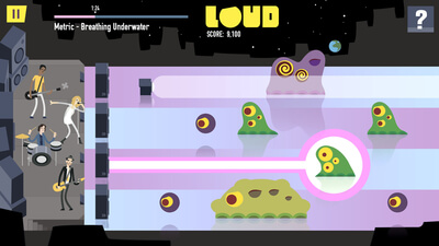 Loud on Planet X Screenshot 2