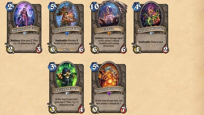 Hearthstone: Whispers of the Old Gods Screenshot 3