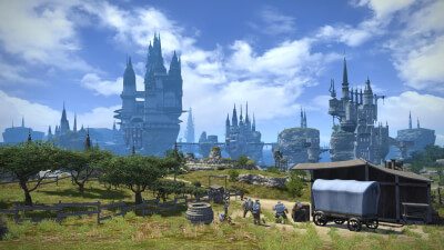 Final Fantasy XIV Online: A Realm Reborn Screenshot 1