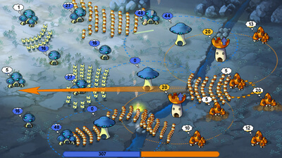 Mushroom Wars (Steam Edition) Screenshot 2