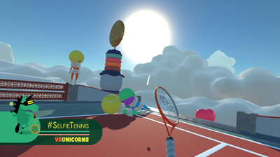 #SelfieTennis (VR) Screenshot 2