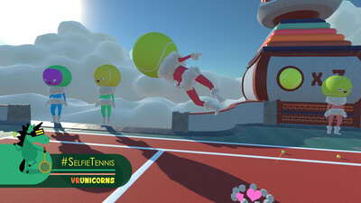 #SelfieTennis (VR) Screenshot 3