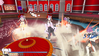Senran Kagura: Shinovi Versus (Steam Edition) Screenshot 2