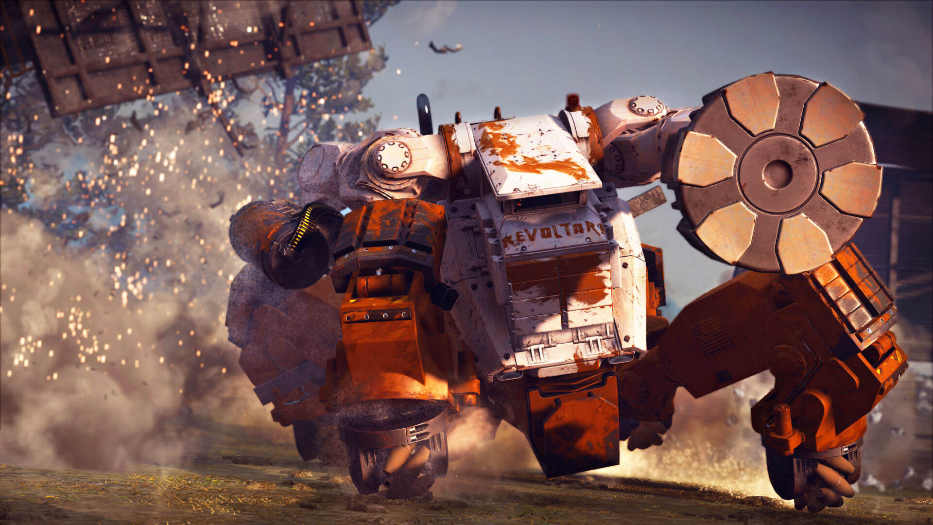 Just Cause 3: Mech Land Assault Masthead