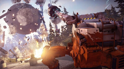Just Cause 3: Mech Land Assault Screenshot 2