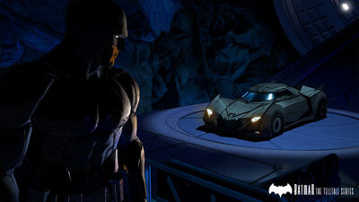 BATMAN - The Telltale Series - Episode 1: Realm of Shadows Screenshot 2
