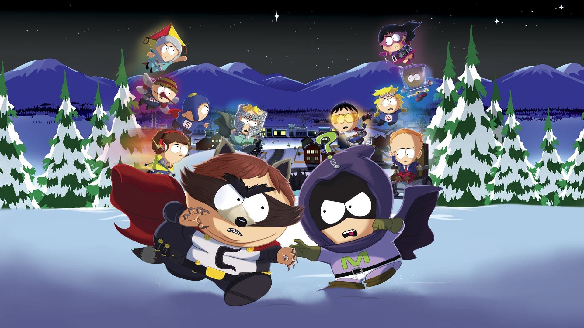 South Park: The Fractured But Whole Masthead