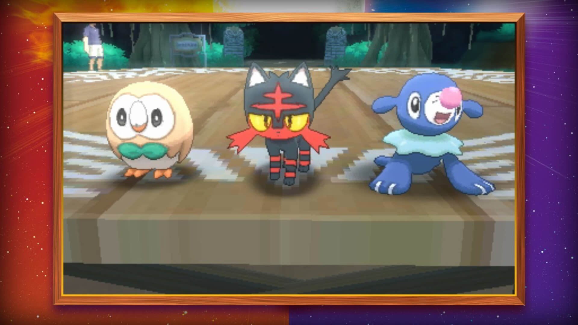 Pokémon Sun and Moon Masthead