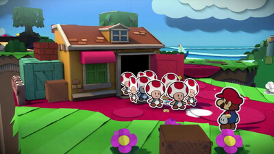 Paper Mario: Color Splash Screenshot 1