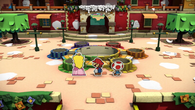Paper Mario: Color Splash Screenshot 2