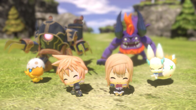 World of Final Fantasy Screenshot 1