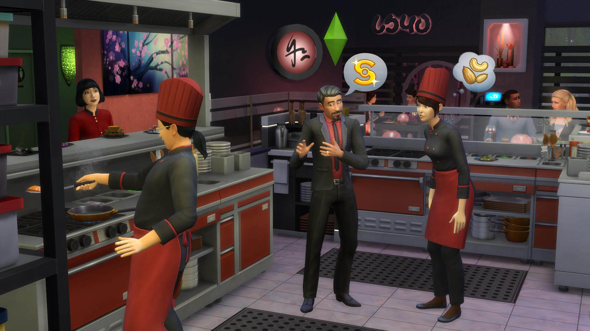 The Sims 4: Dine Out Masthead