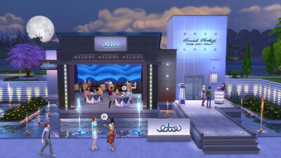 The Sims 4: Dine Out Screenshot 2