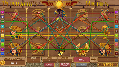 Slots - Pharaoh's Riches Screenshot 1
