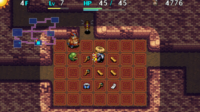 Shiren the Wanderer: The Tower of Fortune and the Dice of Fate Screenshot 2