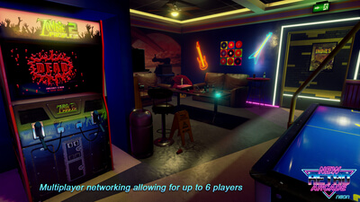 New Retro Arcade: Neon (VR) Screenshot 2