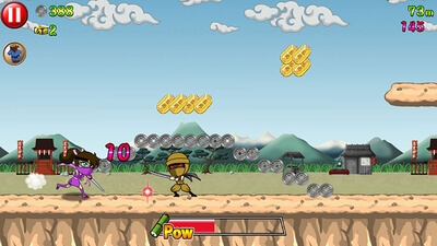 Ninja Strike: Dangerous Dash Screenshot 1