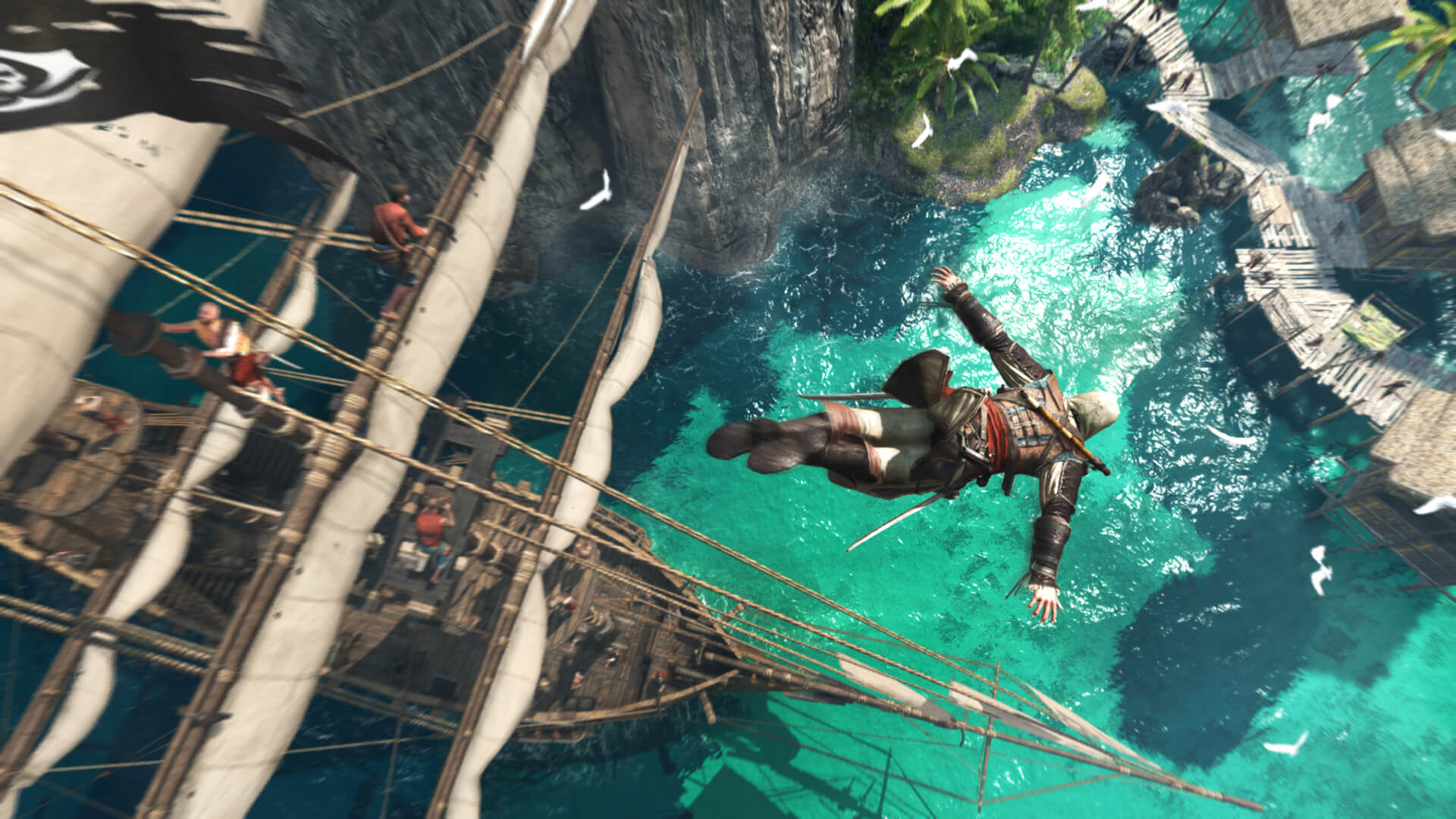 Assassin S Creed Iv Black Flag For Ps4 Xb1 Wii U Pc Reviews