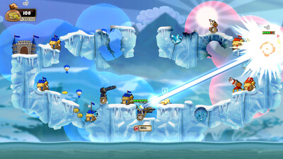 Cannon Brawl Screenshot 2