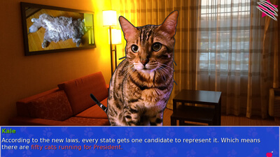 Cat President ~A More Purrfect Union~ Screenshot 1