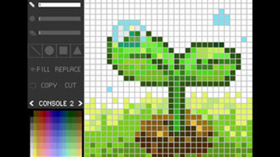 Pixel Paint 3DS Screenshot 1