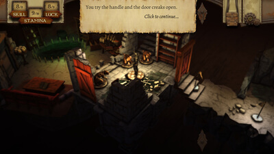 The Warlock of Firetop Mountain Screenshot 2