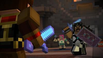 Minecraft: Story Mode - Episode 8: A Journey's End? Screenshot 2