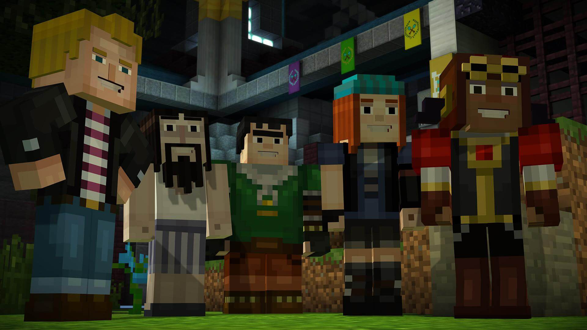 Minecraft: Story Mode - Episode 8: A Journey's End? Masthead