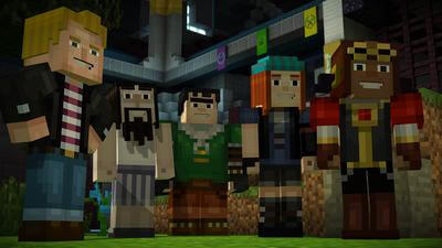 Minecraft: Story Mode - Episode 8: A Journey's End? Screenshot 1
