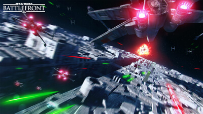 Star Wars Battlefront: Death Star Masthead