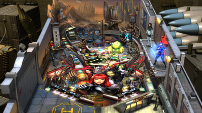 Zen Pinball 2: Marvel's Women of Power Screenshot 1