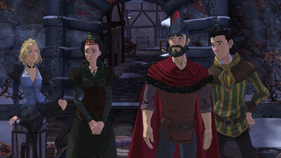 King's Quest - Chapter 4: Snow Place Like Home Screenshot 1
