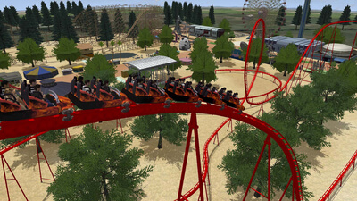 Rollercoaster Dreams Screenshot 2