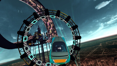 Riff Racer Screenshot 1