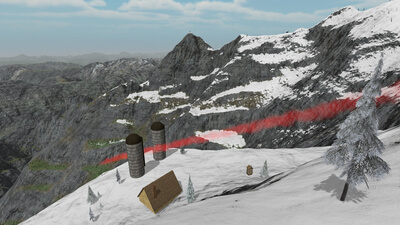 Mount Wingsuit (VR) Screenshot 2