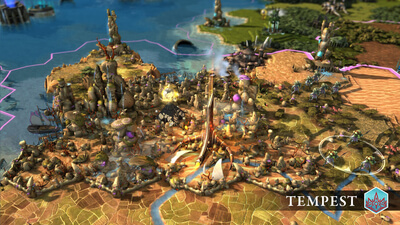 Endless Legend - Tempest Screenshot 1
