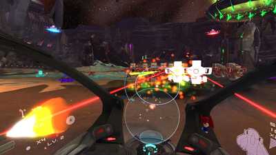 Super Stardust Ultra (VR) Screenshot 3