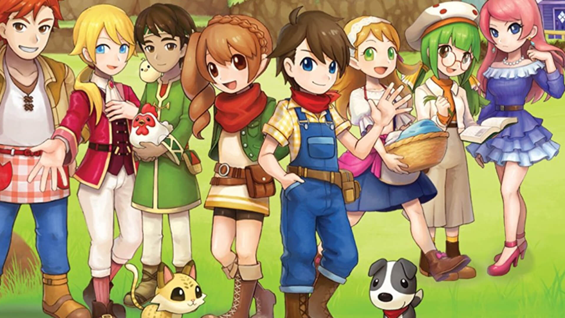 Harvest Moon: Skytree Village Masthead