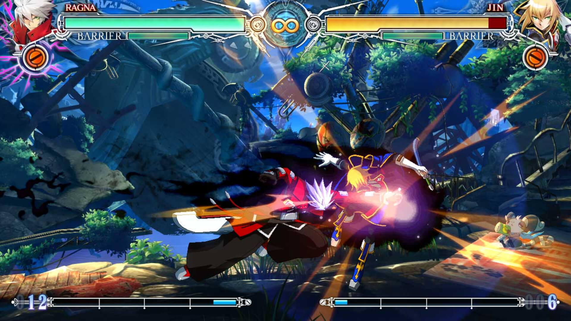 BlazBlue: Central Fiction Masthead