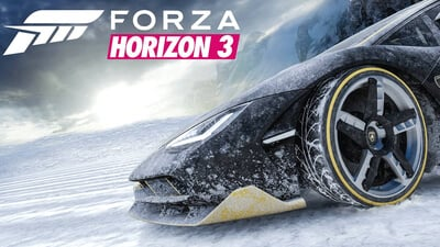 Forza Horizon 3 - Blizzard Mountain Masthead