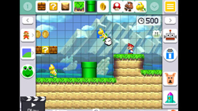 Super Mario Maker for Nintendo 3DS Screenshot 2