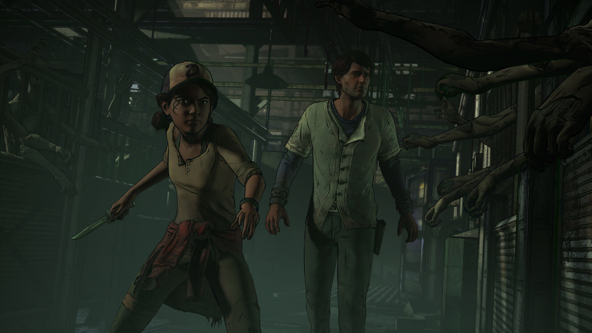 The Walking Dead: A New Frontier - Episodes 1 & 2 - Ties That Bind Masthead