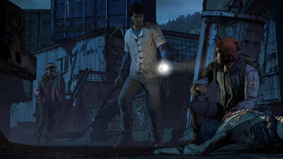The Walking Dead: A New Frontier - Episodes 1 & 2 - Ties That Bind Screenshot 2