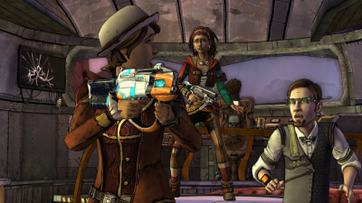 Tales From The Borderlands: Episode Two - Atlas Mugged Screenshot 1