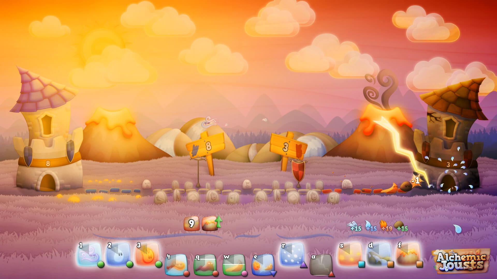 Alchemic Jousts Masthead