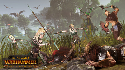 Total War: WARHAMMER - Realm of The Wood Elves Masthead