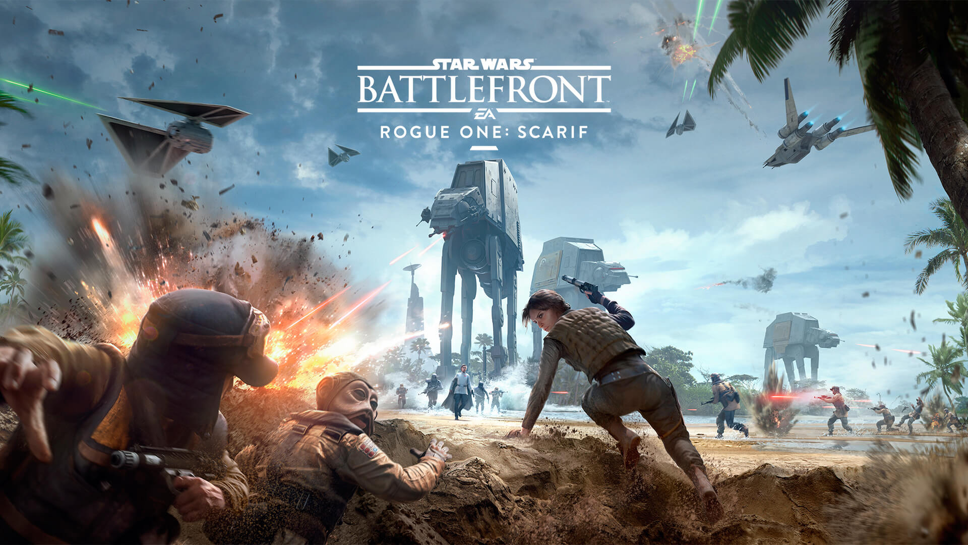 Star Wars Battlefront: Rogue One: Scarif Masthead