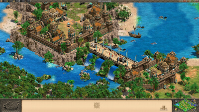 Age of Empires 2 HD: Rise of the Rajas Screenshot 1