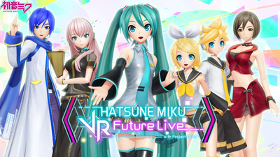 Hatsune Miku: VR Future Live - 2nd Stage Screenshot 1