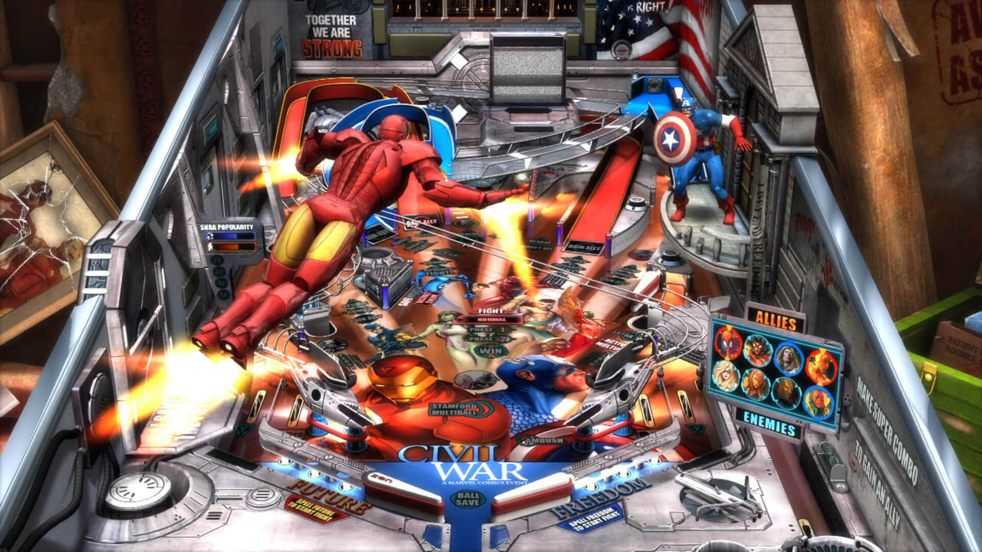 Marvel Pinball: Epic Collection Volume 1 Masthead